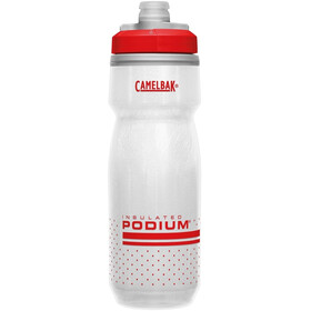 CamelBak Podium Chill Juomapullo 620ml, fiery red/white